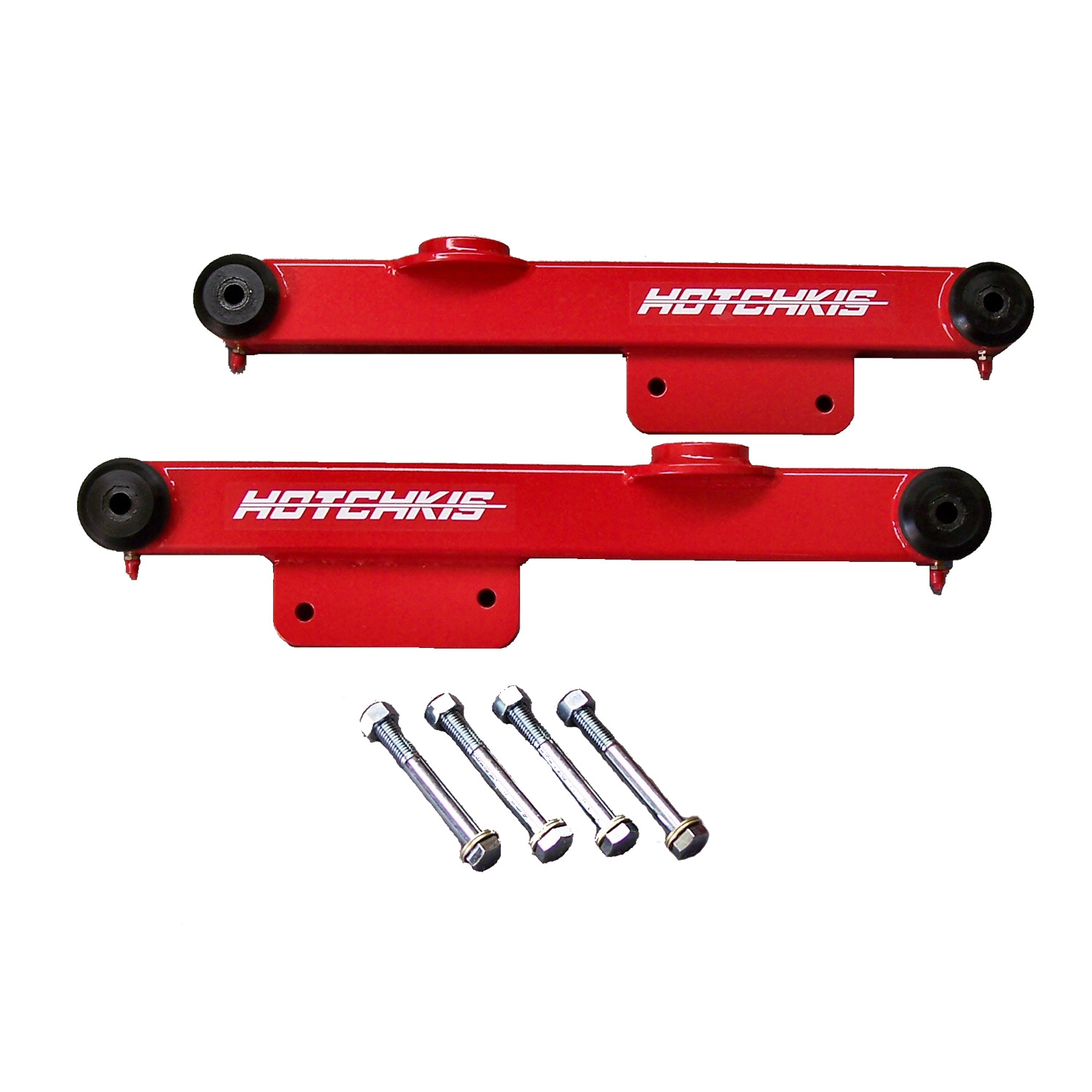 1979-1998 Mustang Lower Trailing Arms  Red – from Hotchkis Sport Suspension