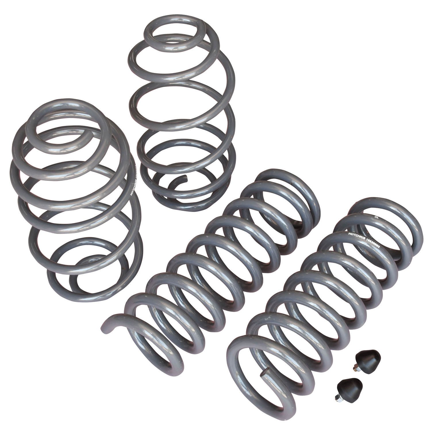1967-1972 GM A-Body Lowering Coil Springs Set (4) 1 in. Drop Big Block