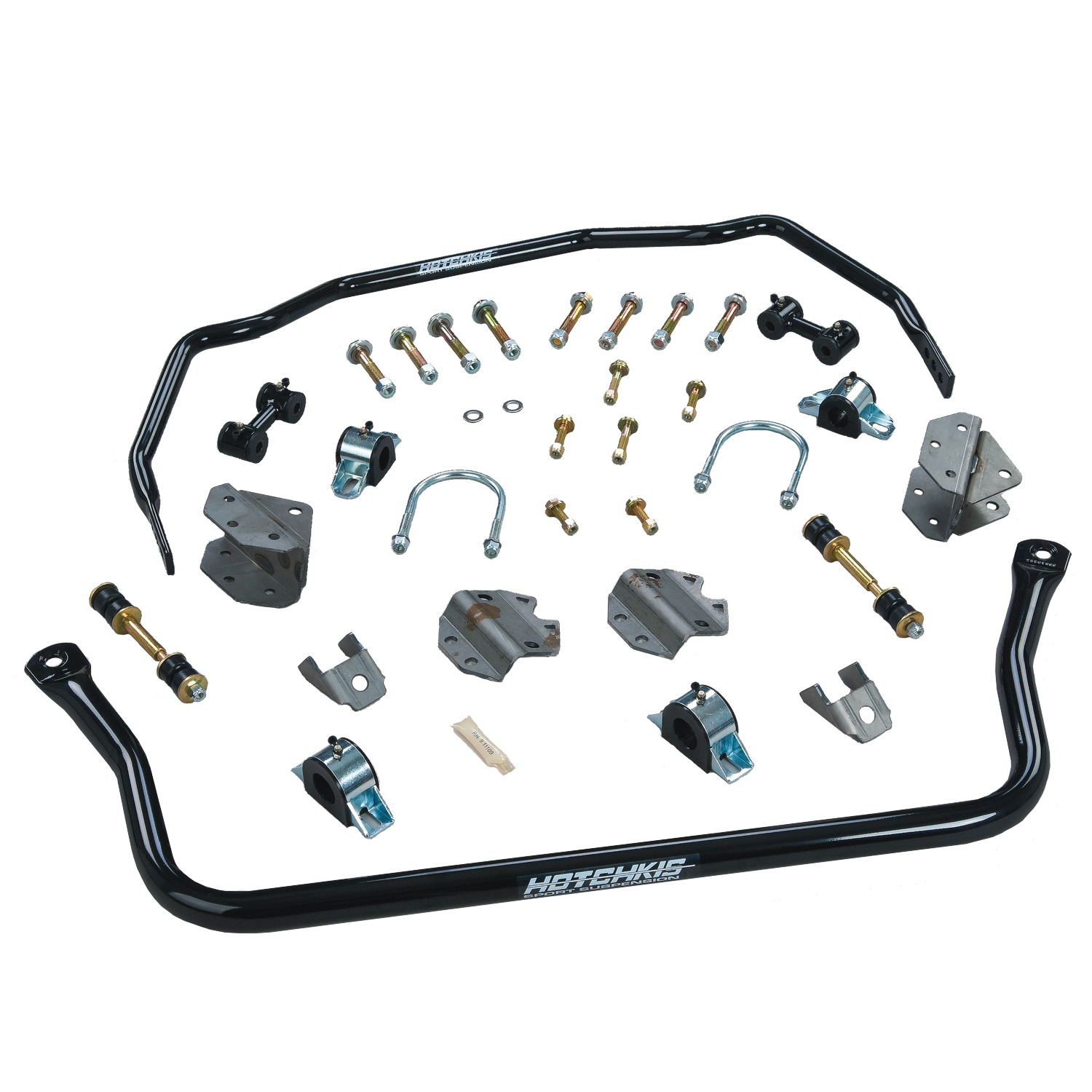 1967-1972 Dodge A-Body Sport Sway Bar Set from Hotchkis Sport Suspension