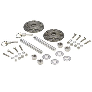 Quick Release Billet Hood Pin Kit from Hotchkis Sport Suspension - Thumbnail Image