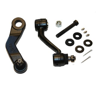66-76 Mopar Quick 12:1 Ratio Pitman /Idler Steering Arm for A  B or E Body cars - Thumbnail Image
